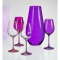 Sprayed Lilac Vase - 245 mm
