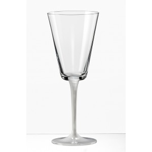 Jive 38344 Champagne Glass With A Sprayed White Stem 180 ml