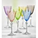 Elisabeth Floral Wine Glass Multi-Colour - 250ml